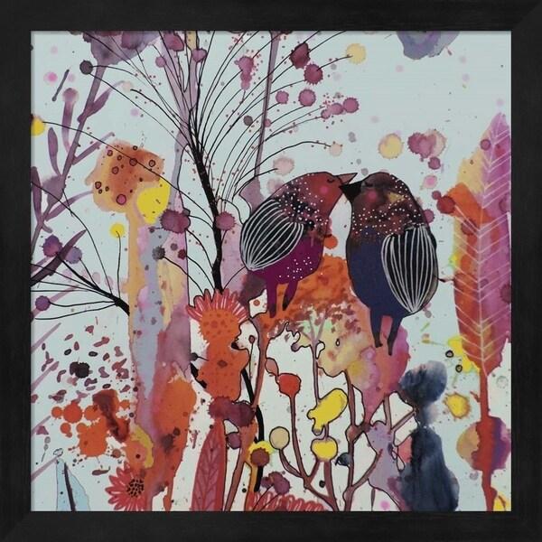 Sylvie Demers 'Love Moi' Framed Art