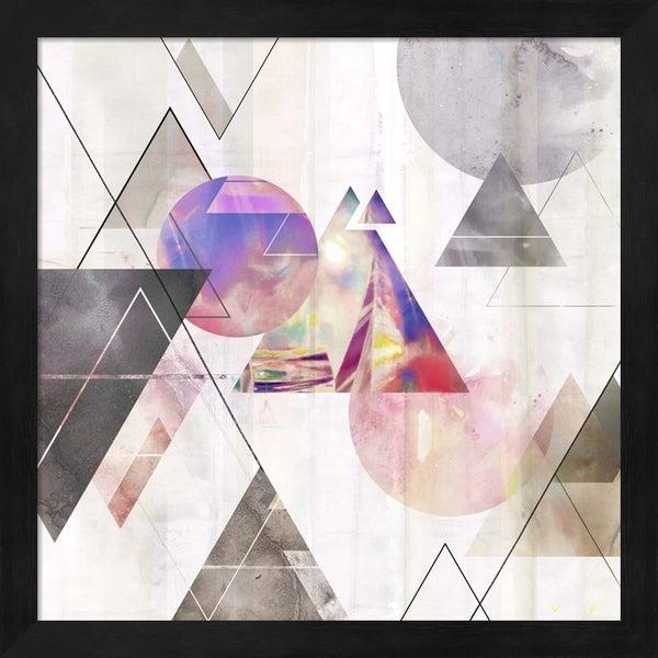 Isabelle Z 'Holographic I' Framed Art