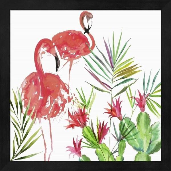 Aimee Wilson 'Flamingo Pairing' Framed Art