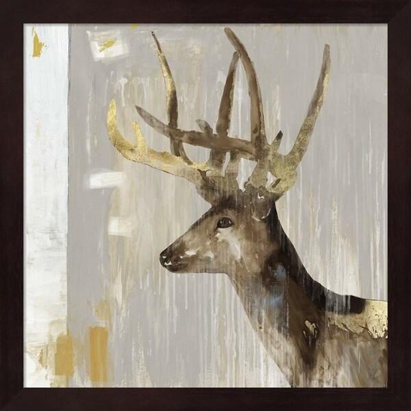 Aimee Wilson 'Stag I' Framed Art