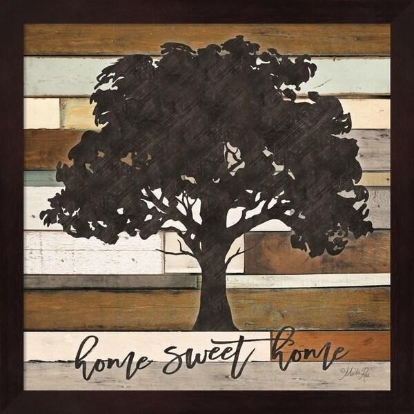 Marla Rae 'Home Sweet Home' Framed Art