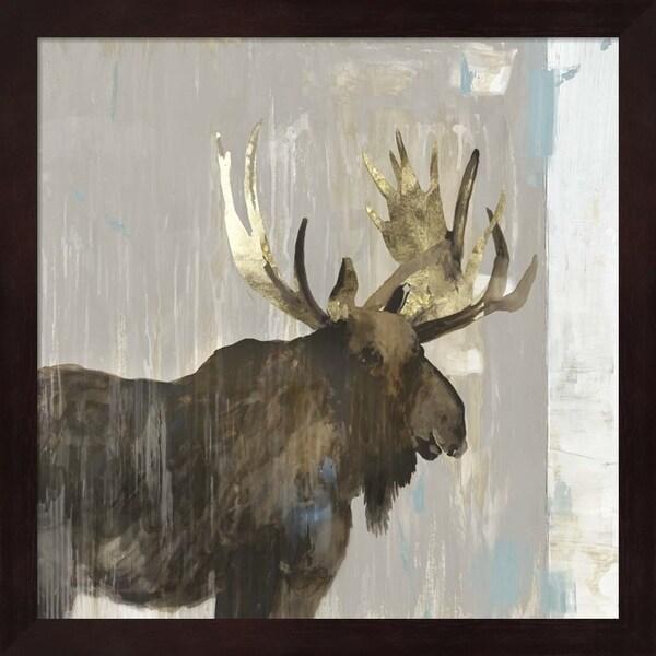 Aimee Wilson 'Moose Tails II' Framed Art