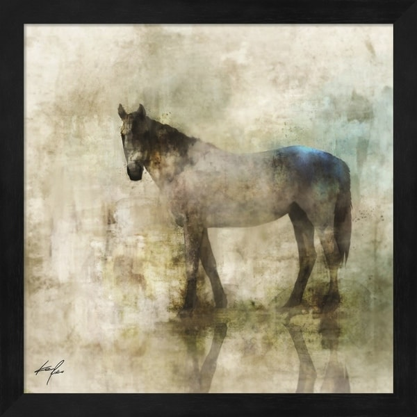 Ken Roko 'Horse Reflection II' Framed Art