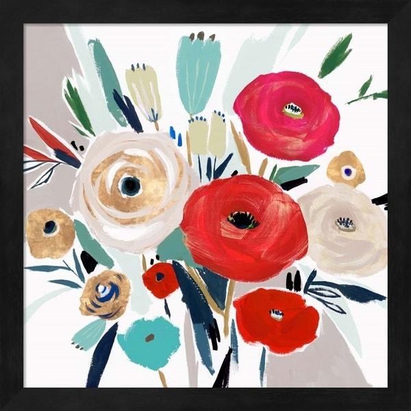 Isabelle Z 'Sweet Caroline I' Framed Art