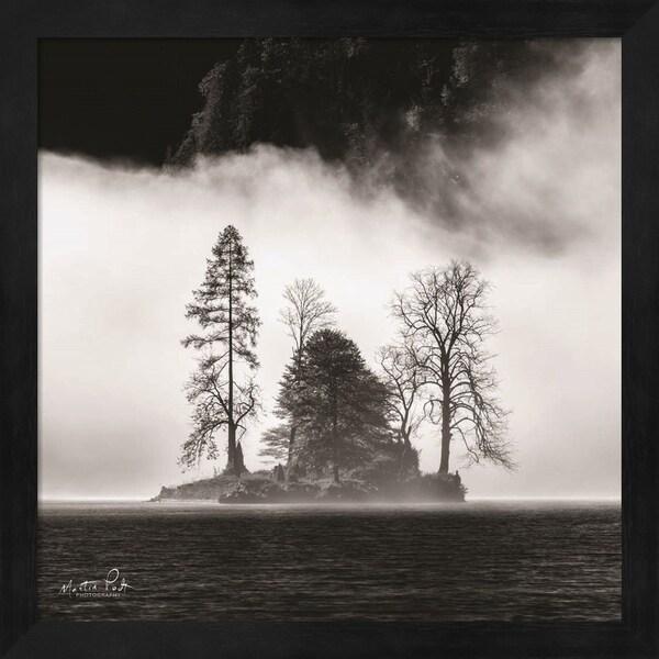 Martin Podt 'The Island' Framed Art