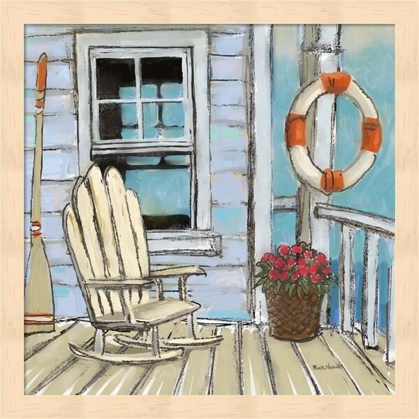 Rick Novak 'Pier Four' Framed Art