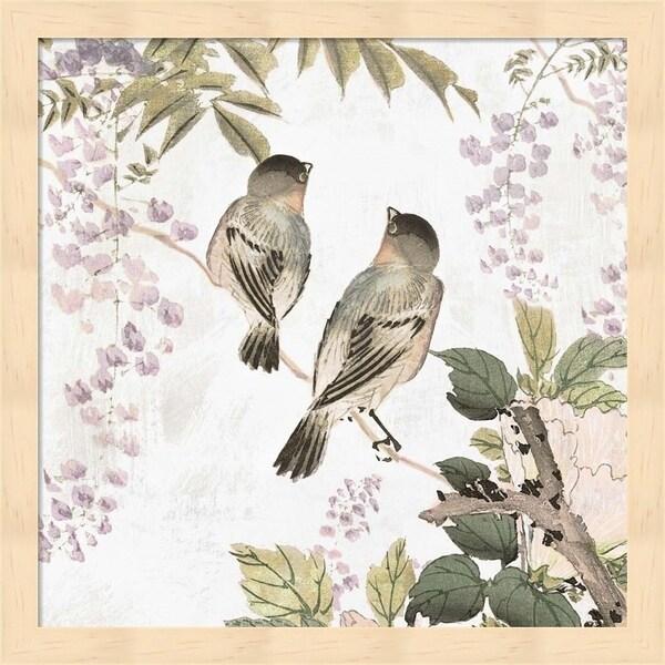 Isabelle Z 'Woodland Birds II' Framed Art
