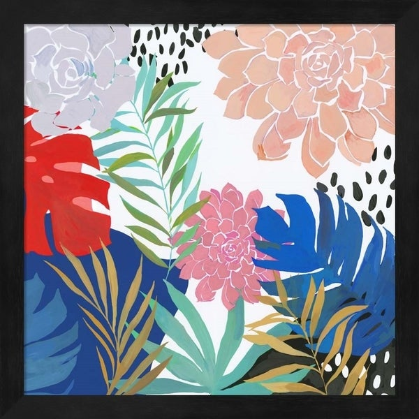 Aimee Wilson 'Tropical Matisse' Framed Art