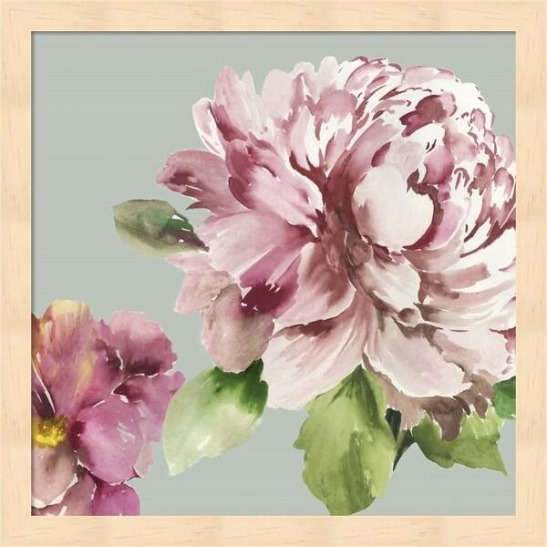 Asia Jensen 'Pink Peony I' Framed Art