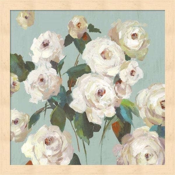 Asia Jensen 'La Rosa' Framed Art