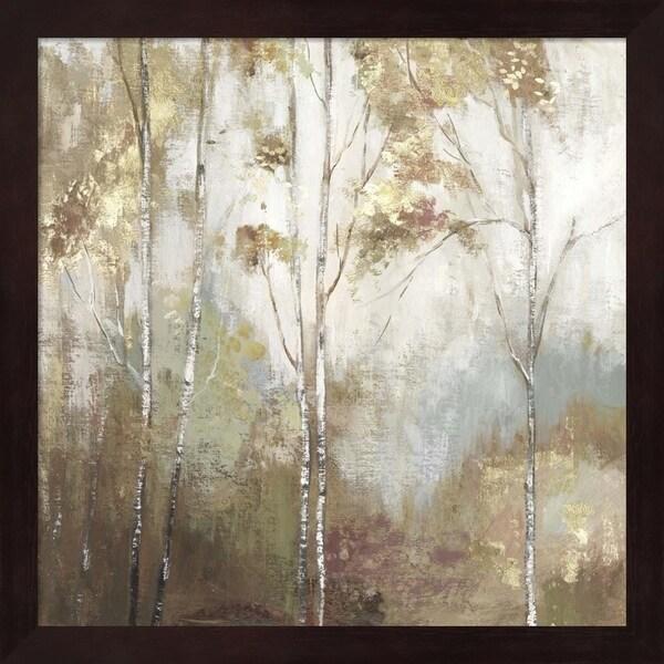 Allison Pearce 'Fine Birch II' Framed Art