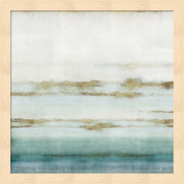 Isabelle Z 'Cerulean Haze II' Framed Art