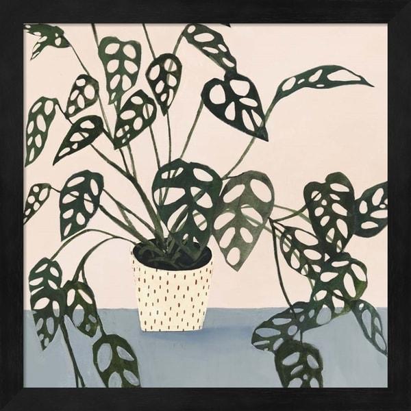 Victoria Borges 'Houseplant I' Framed Art