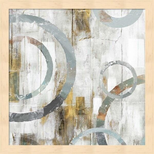 Isabelle Z 'Swirls I' Framed Art