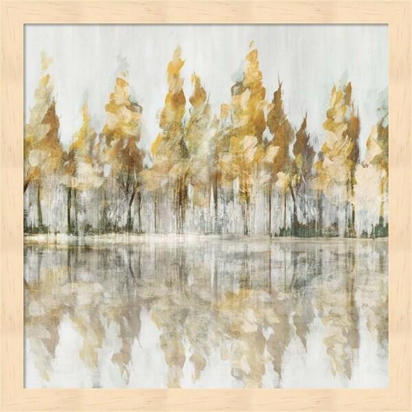 Isabelle Z 'Across the Narrow Lake' Framed Art