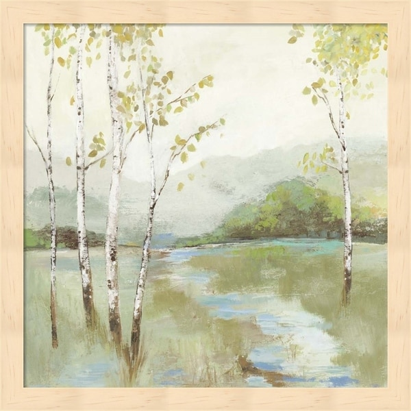 Allison Pearce 'Calm River' Framed Art