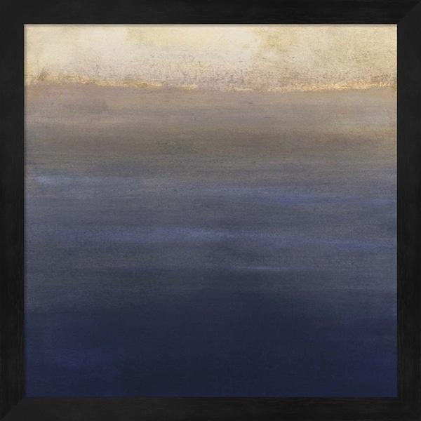 Victoria Borges 'Indigo Sundown II' Framed Art