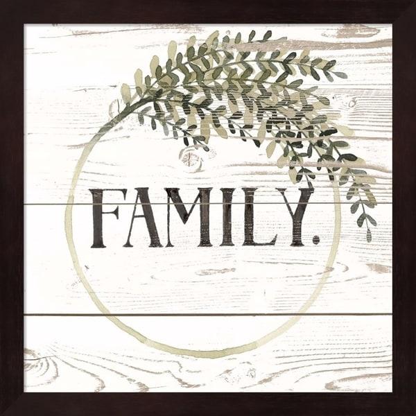Grace Popp 'Family Farmhouse II' Framed Art