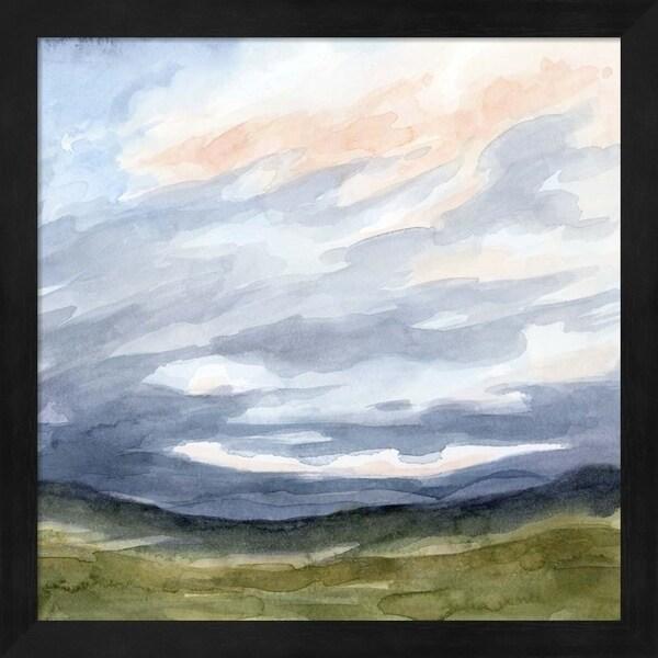 Grace Popp 'Windswept Horizon I' Framed Art