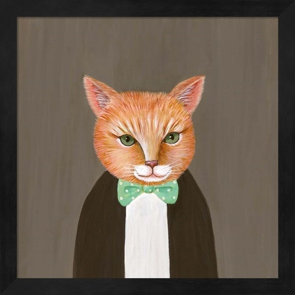 Janet Nelson 'Mr Ginger' Framed Art
