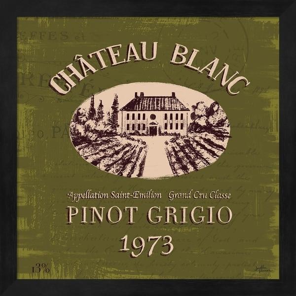 Janelle Penner 'Wine Tasting IV' Framed Art