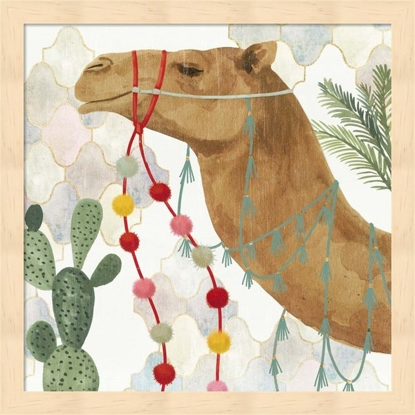 Victoria Borges 'Meet me in Marrakech IV' Framed Art