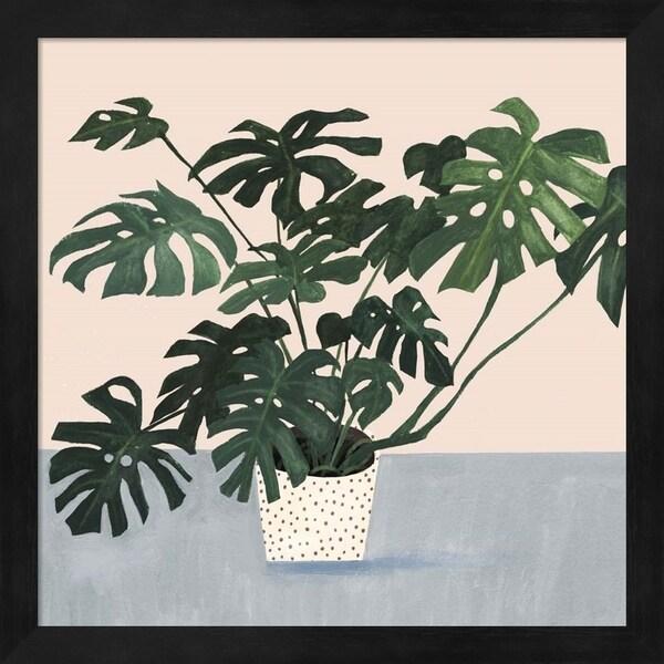 Victoria Borges 'Houseplant III' Framed Art