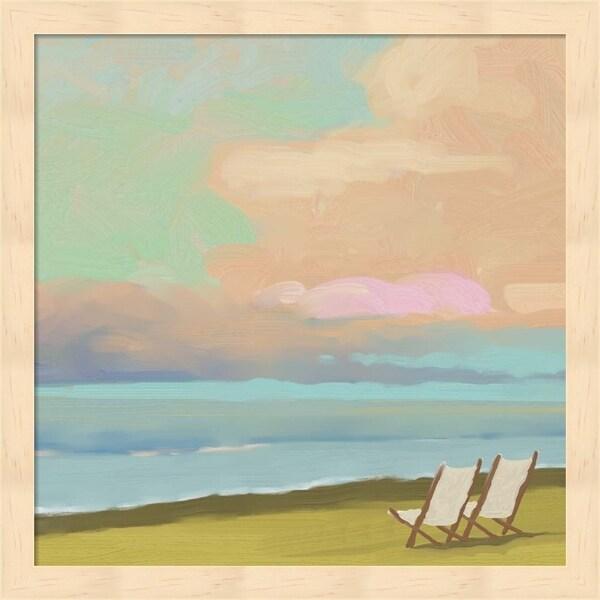 Rick Novak 'Beaches 2' Framed Art