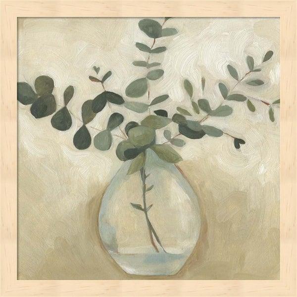 Emma Scarvey 'Greenery Still Life III' Framed Art