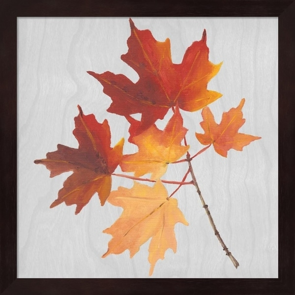 Dianne Miller 'Autumn Leaves IV' Framed Art