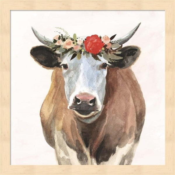 Victoria Borges 'Spring on the Farm I' Framed Art