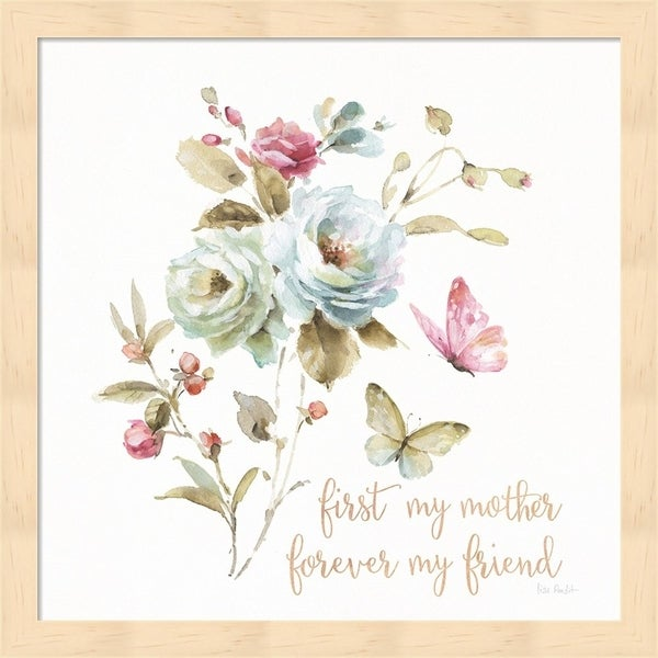 Lisa Audit 'Beautiful Romance VIII Mother' Framed Art
