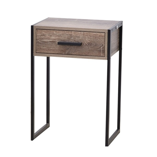 JR Home Collection Industrial Look Side Drawer