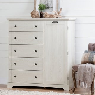 South Shore Lilak Door Chest with 5 Drawers - 5-Drawer
