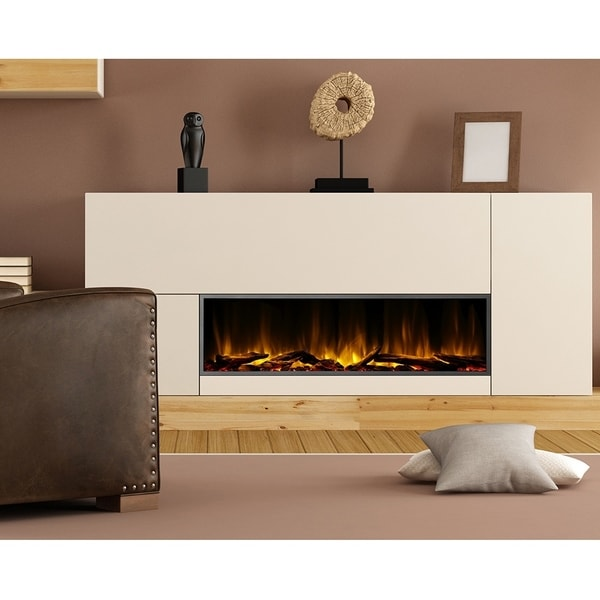 Dynasty Fireplaces Harmony 57 in. LED Wall Mounted Electric Fireplace. Opens flyout.