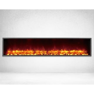 Strick & Bolton Lehto Built-in 63-inch LED Electric Fireplace