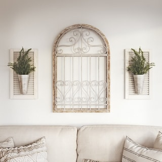 Danica Farmhouse Arch Wall Decor - N/A