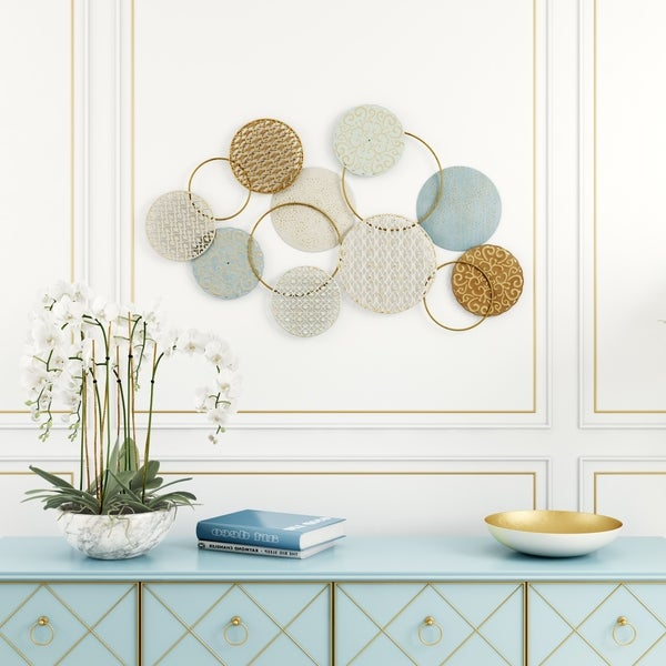 Orly Abstract Metal Wall Decor - N/A