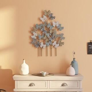 Deja Metal Flower Wall Decor - N/A