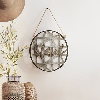 Blessed Metal Wall Decor - N/A