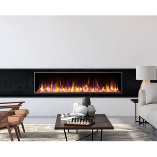 Dynasty Fireplaces Harmony  64 in. LED Wall Mounted Electric Fireplace - N/A