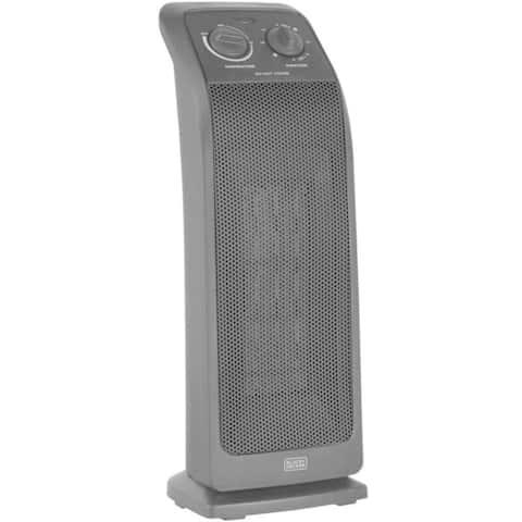 Black & Decker BHTC571 Ceramic Tower Heater, 1500 Watts