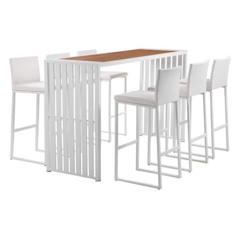 Pulaski 7-piece Bar Set by Havenside Home
