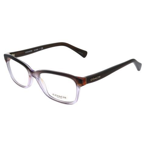 Coach HC 6089 5401 51mm Womens Purple Brown Gradient Brown Frame Eyeglasses 51mm