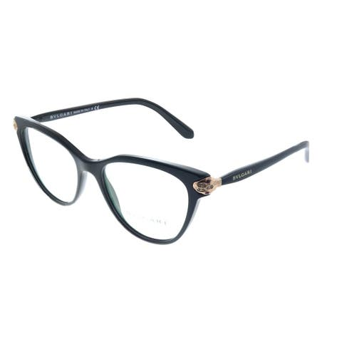 Bvlgari BV 4156B 501 54mm Womens Black Frame Eyeglasses 54mm