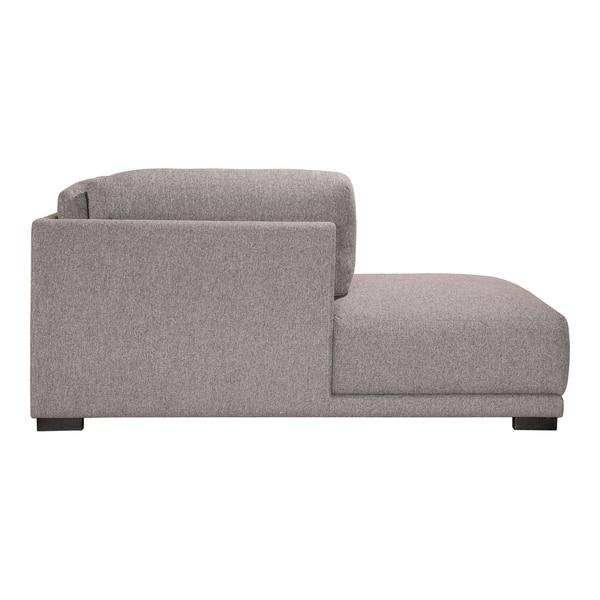 Cool Shop Aurelle Home Ramon Light Grey Modular Sectional Chaise Theyellowbook Wood Chair Design Ideas Theyellowbookinfo