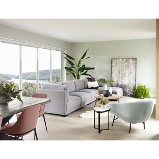 Aurelle Home Ramon Modular Sectional Piece - Slipper Chair