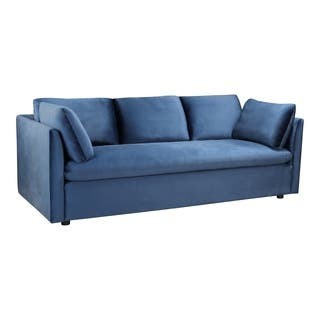 Admirable Buy Blue Velvet Sofas Couches Online At Overstock Our Machost Co Dining Chair Design Ideas Machostcouk
