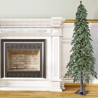 LED  Winter Frost Alpine Tree 7'