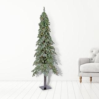 LED  Winter Frost Alpine Tree 6'